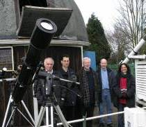 Group at HSS Observatory for partial eclipse 2006