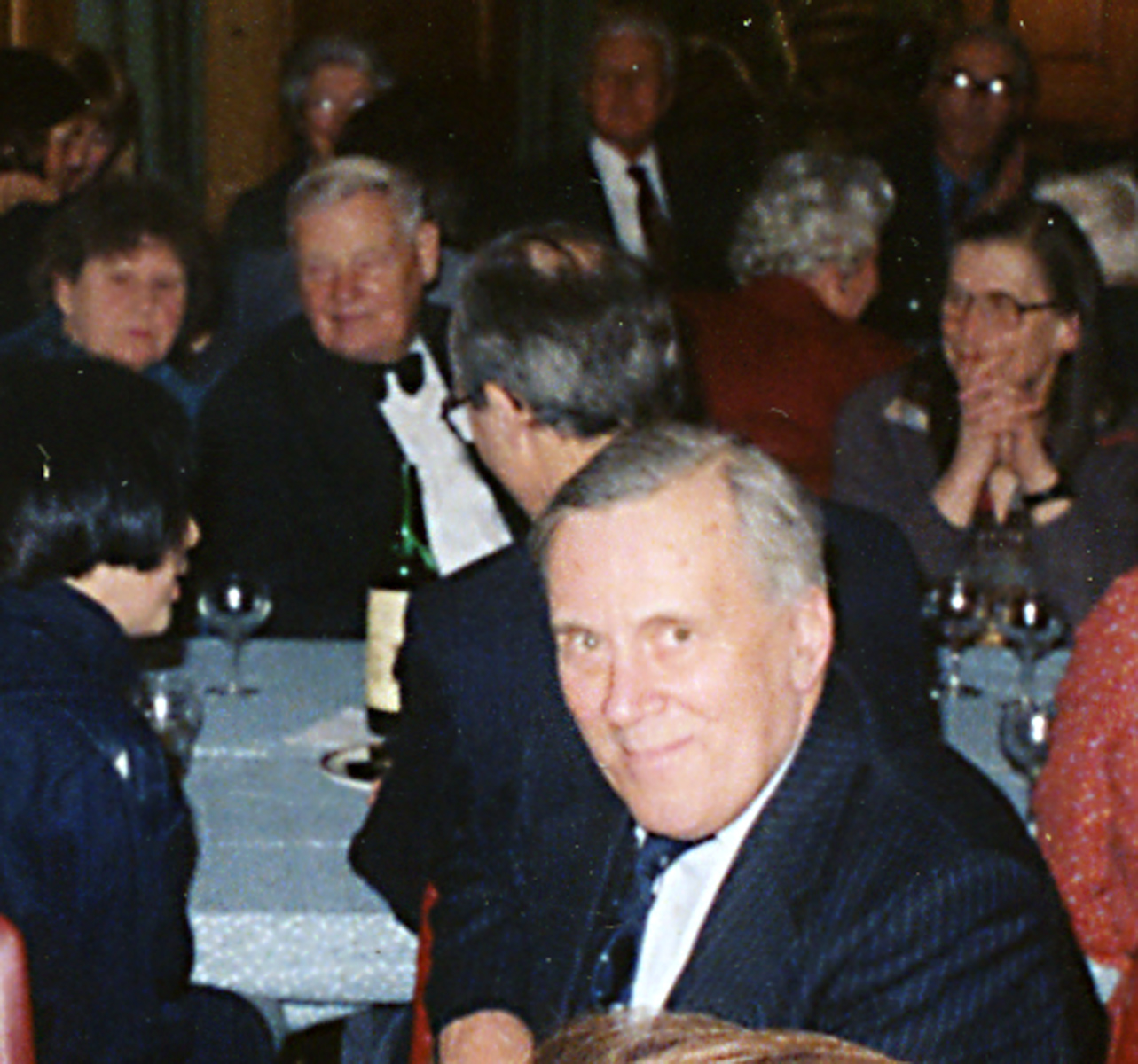 David St.George at the Society's 90th Anniversary Dinner in 1984